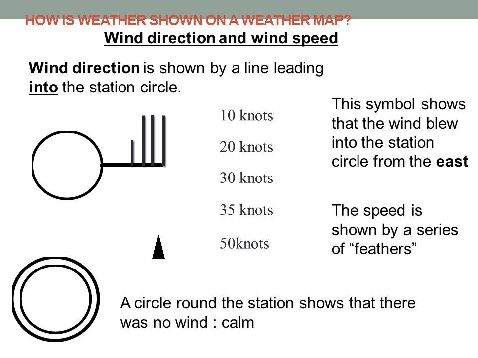 Weather Map Symbols Rain