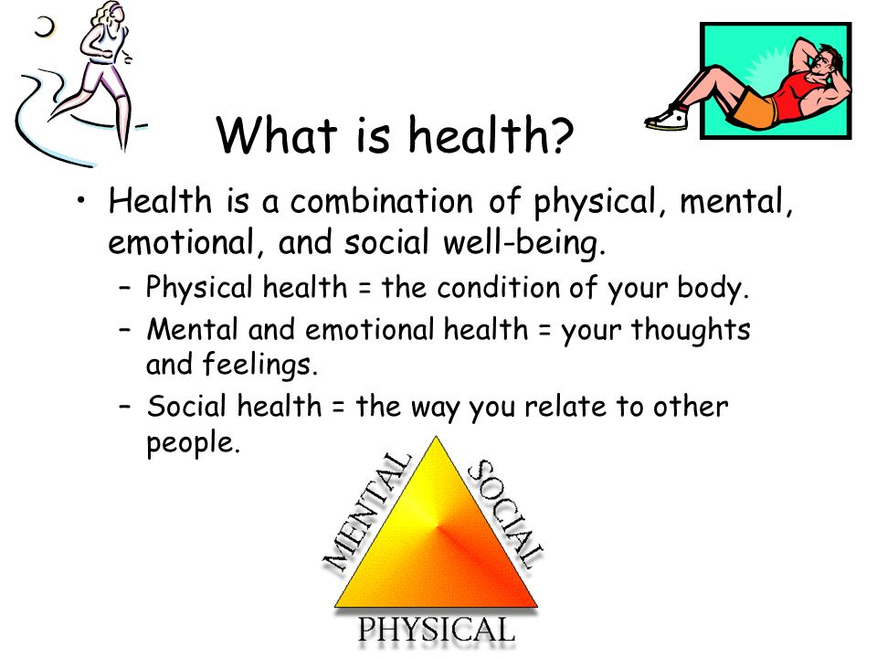 Your Health and Wellness. Objectives Today we are going to learn ...