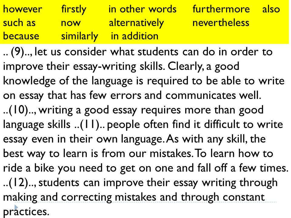 Write my improve your essay