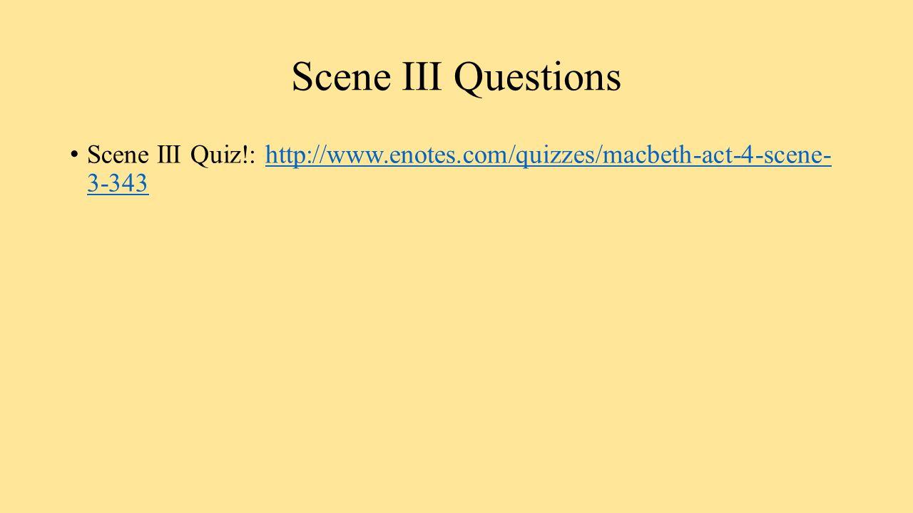 analysis of act i scene iii