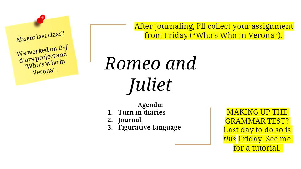 romeo and juliet figurative language Metaphor 1 love is a smoke made with the fume of sighs -romeo this is a metaphor comparing love to smoke romeo uses this metaphor to express his feelings about love, that love is full of disappointment and grief.