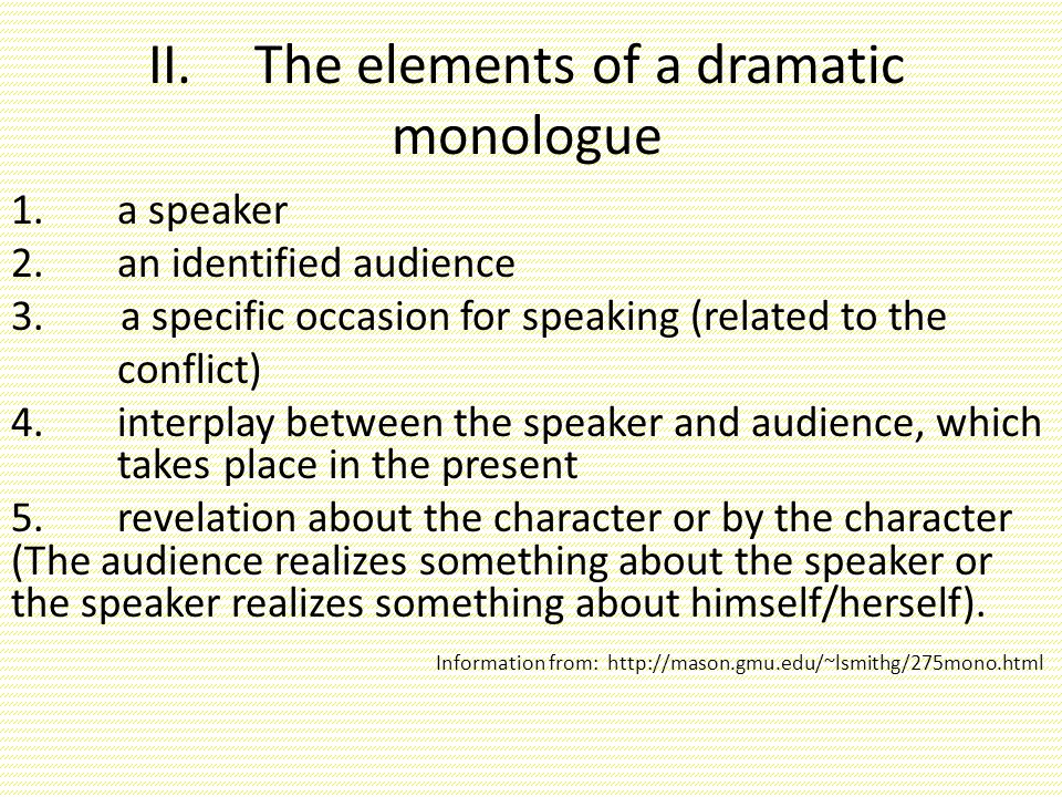 element of drama essay Free greek drama papers, essays, and case study of bolivar and contemporary greek mythology - the excessive element of the hero in both the poetic.
