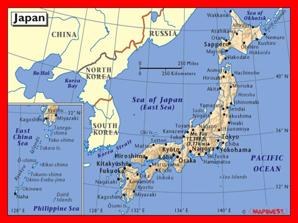 JAPAN Geography Four Major Islands Hokkaidonorth Honshumain - Japan map four main islands