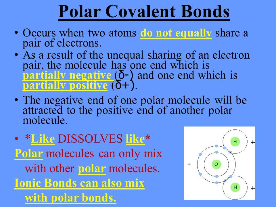 The Extraordinary Properties of Water. 1. Ionic Bonds Types of ...