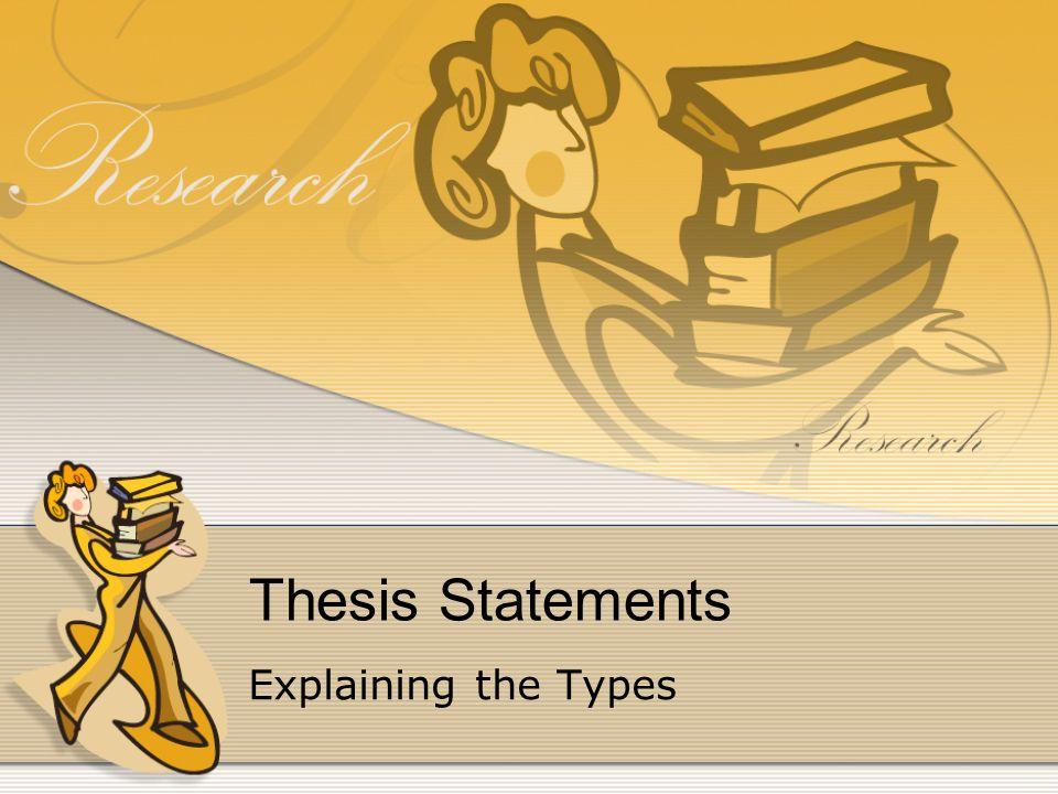 choosing thesis keywords