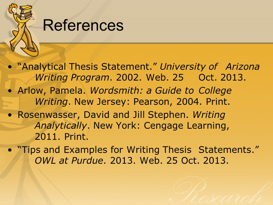 help with thesis statements Now it's time to come up with a thesis statement — the point that you want to make forming a thesis statement a couple of techniques will help you.