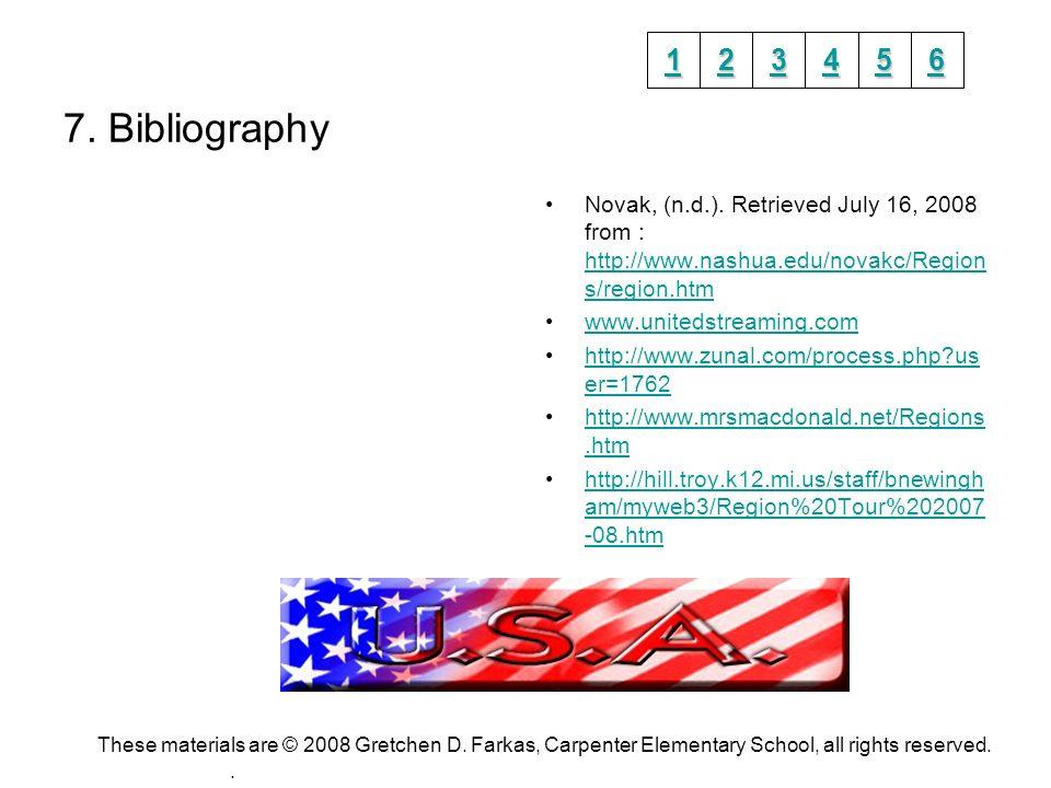 7. Bibliography Novak, (n.d.).