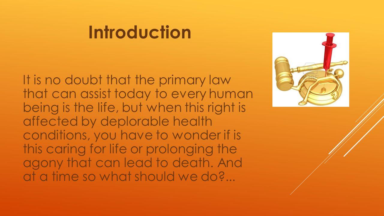 euthanasia oral presentation