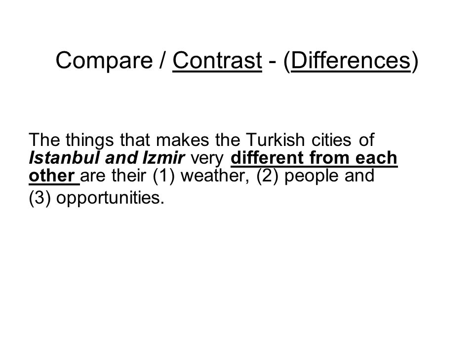 compare and contrast essay istanbul and ankara