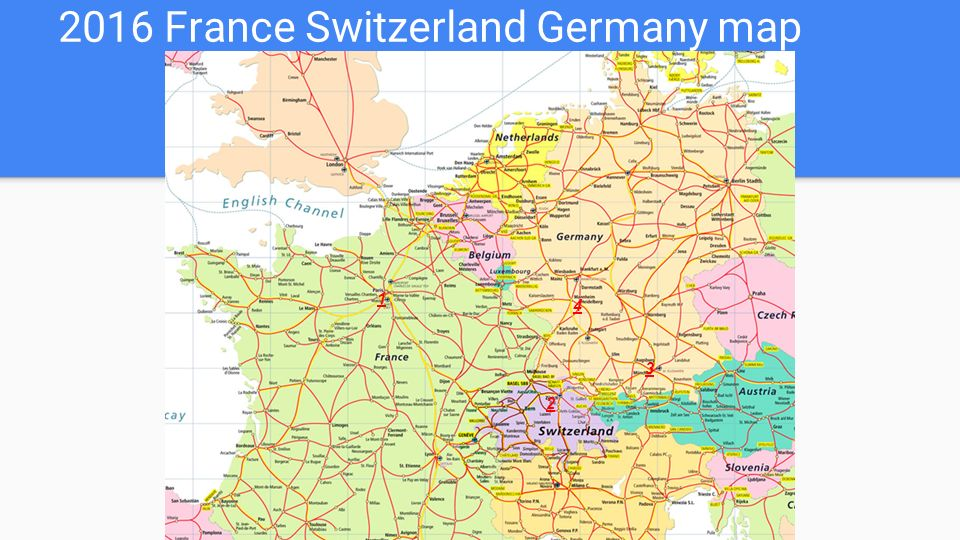 Download Map Of Germany And France Major Tourist Attractions Maps - Map of germany and france