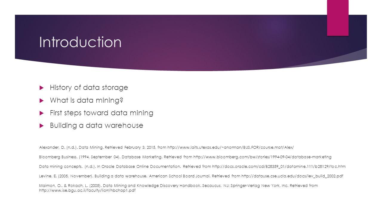 Warehousing data pdf and mining