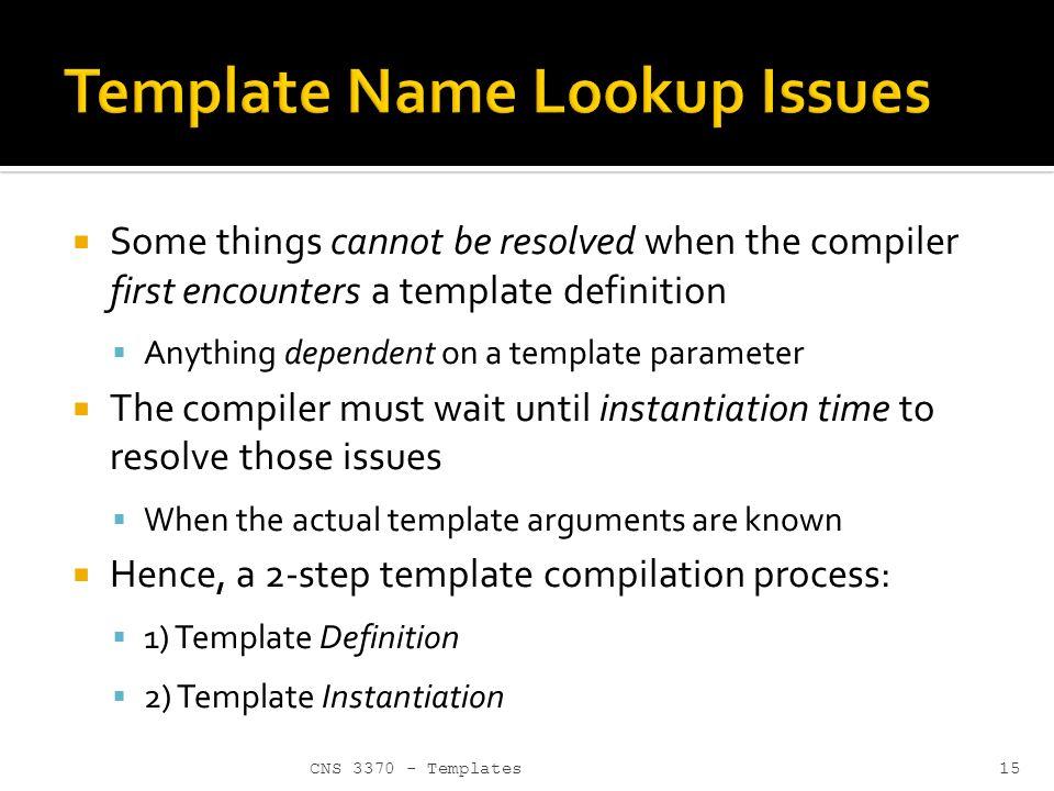 Nett Template Template Parameter Zeitgenössisch ...