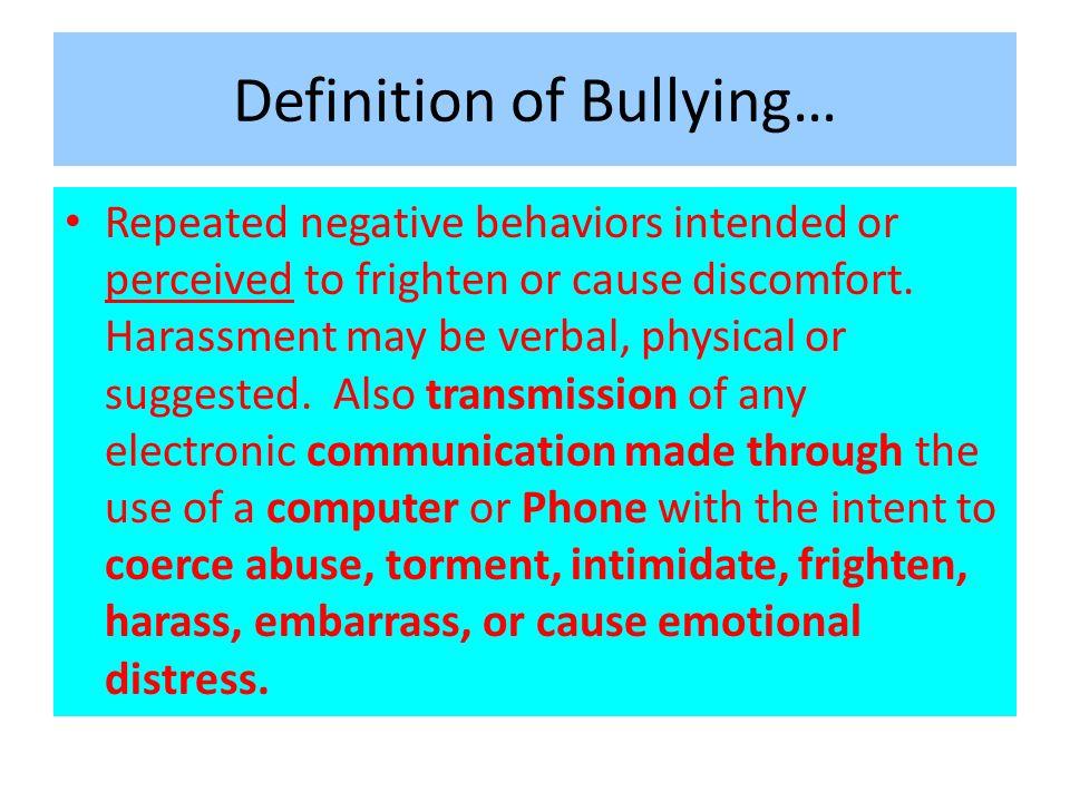1 Definition ...