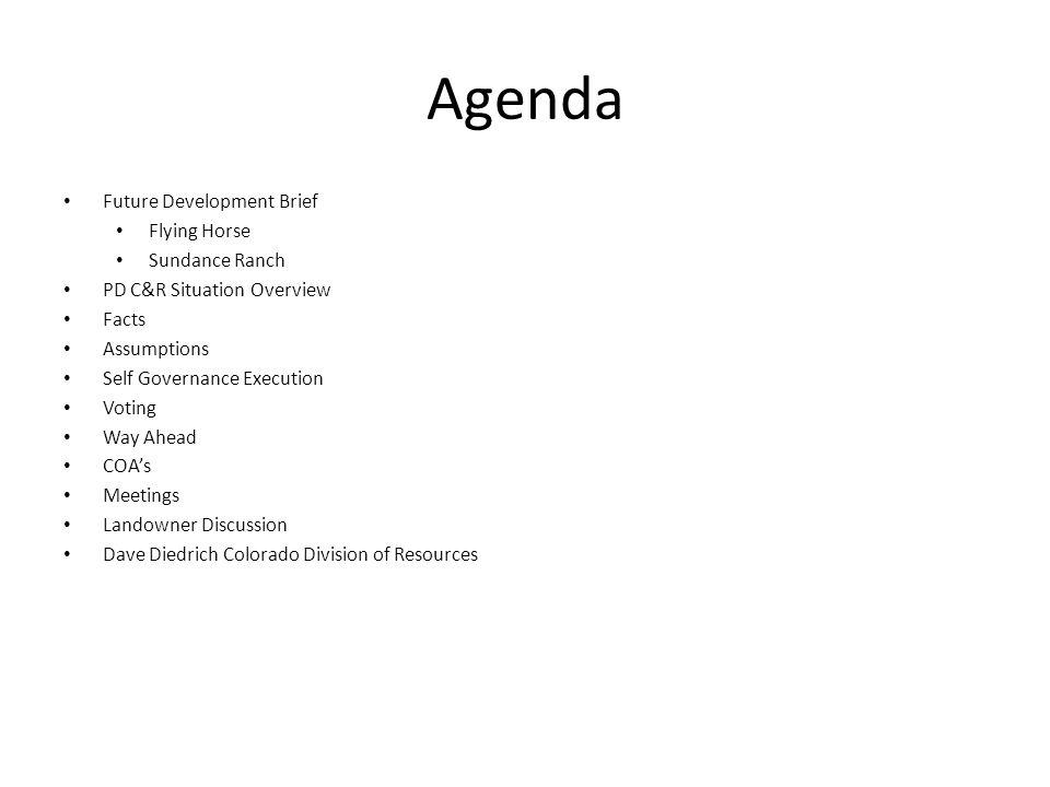 hoa meeting agenda