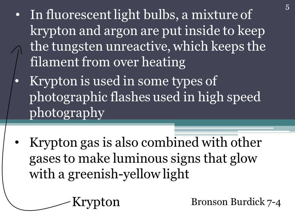Krypton English chemist Sir William Ramsay discovered krypton in ...