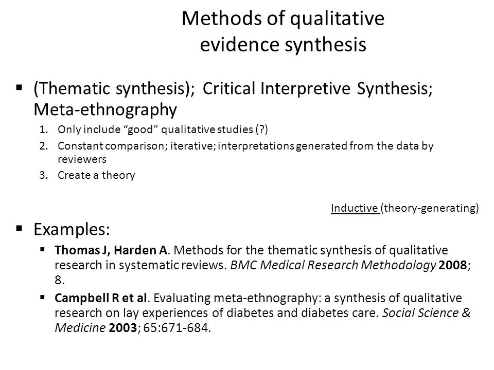 synthesising qualitative Qualitative data analysis is an iterative and reflexive process that begins as data are being collected rather than after data collection has ceased (stake 1995) next to her field notes or interview transcripts, the qualita .
