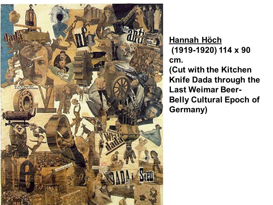 Cut with a kitchen knife hannah hoch - 4 Hannah H Ch