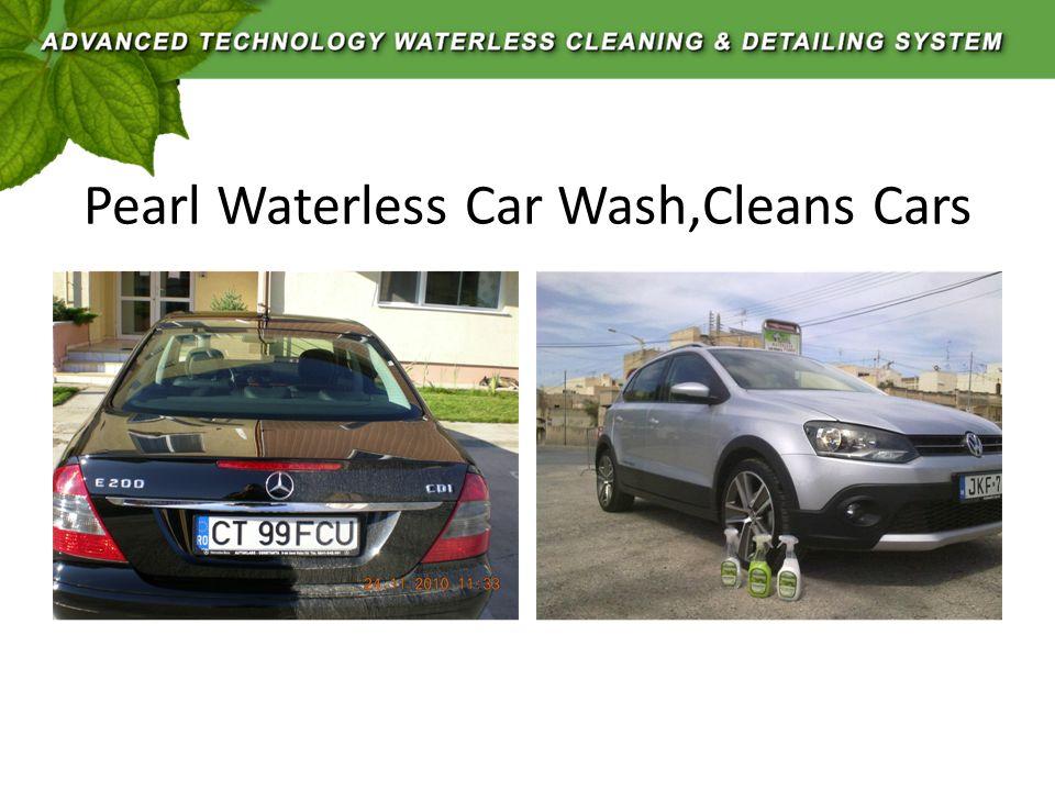 Pearl Waterless Car Wash,Cleans Cars