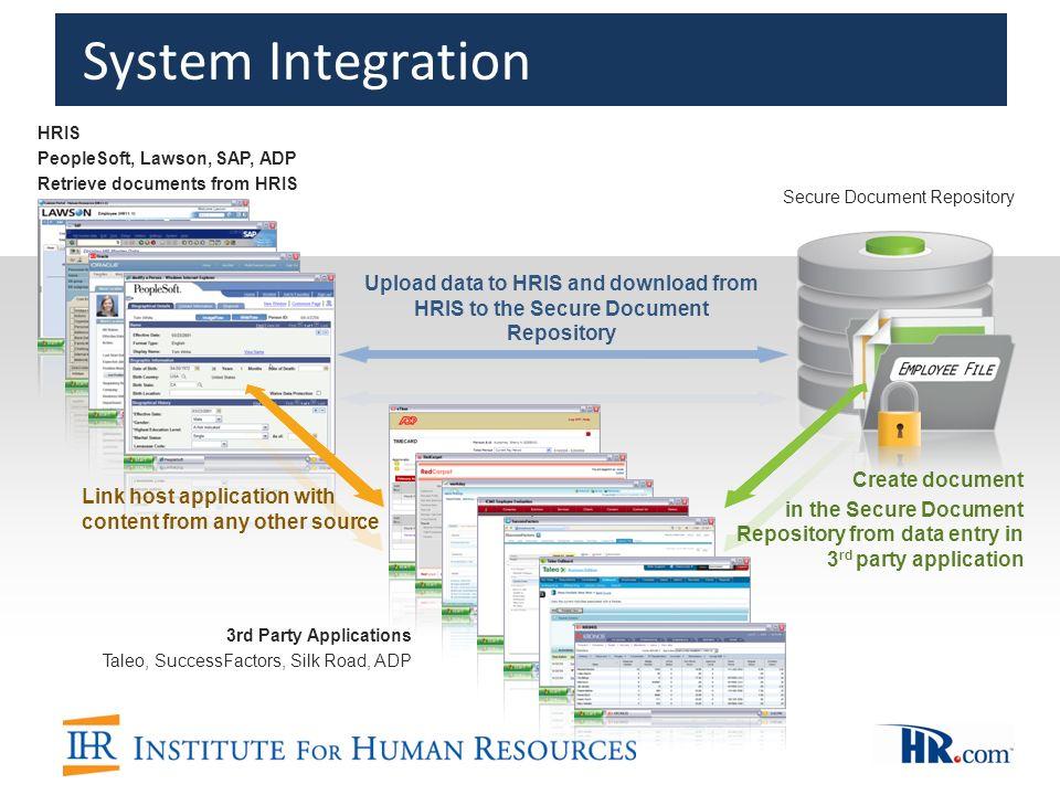 14 system integration hris peoplesoft lawson