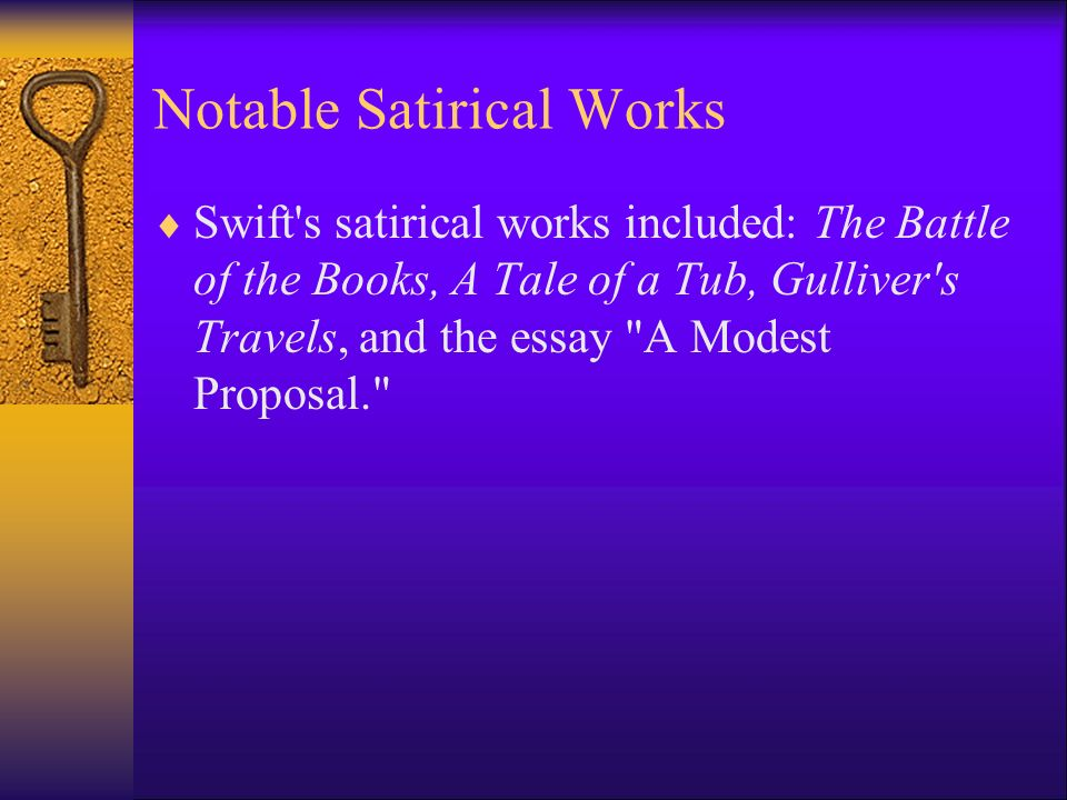 swift s a modest proposal essay example