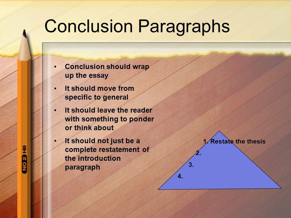 Multi Paragraph Essay