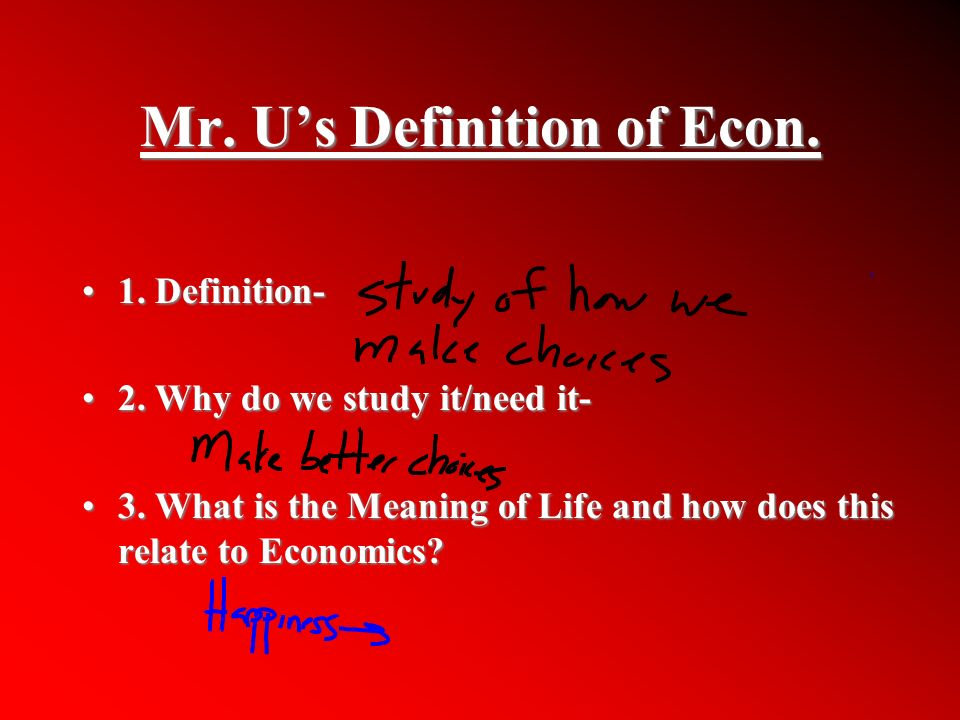 Can you give the journal terms in economics alphabetically?