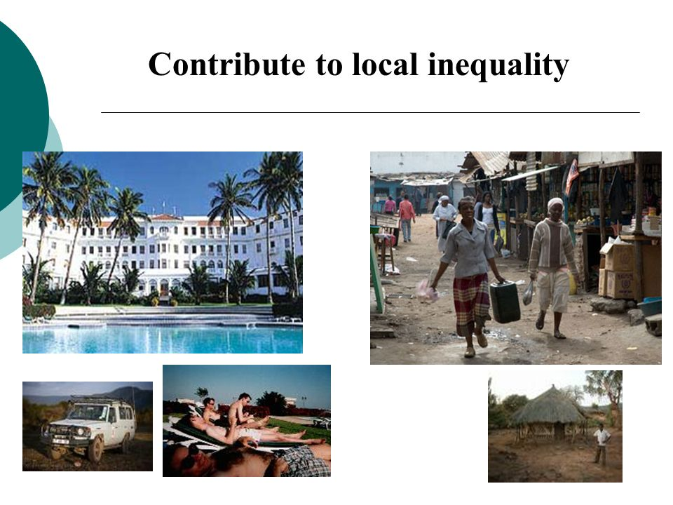 Contribute to local inequality