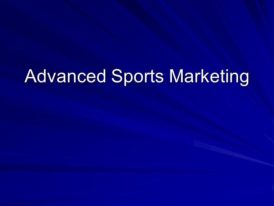 Advanced Sports Marketing