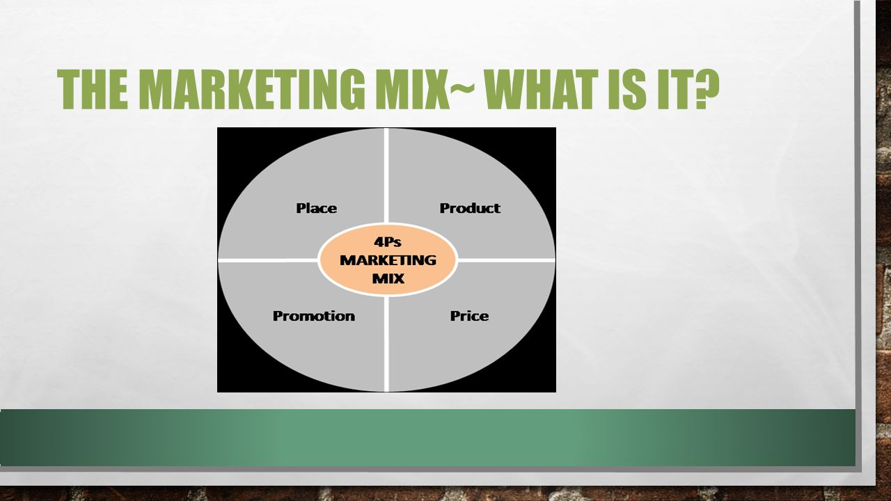 4ps of the marketing mix in the uk cheese market A successful product or service means nothing unless the benefit of such a service can be communicated clearly to the target market an organizations promotional mix can consist of: advertising public relation sales promotion promotional mix personal selling direct mail internet/ e-commerce the promotions aspect of the marketing mix covers.