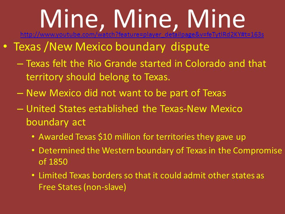 Statehood The Republic Of Texas Is No More Anson Jones Ppt - Is new mexico part of the united states
