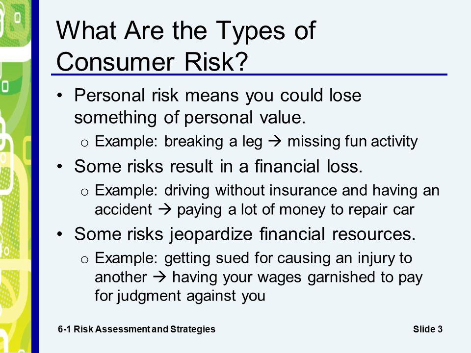 Risk Losing Lot