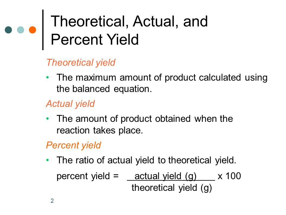 Percent Actual And Theoretical Yield Worksheet Free Worksheets ...