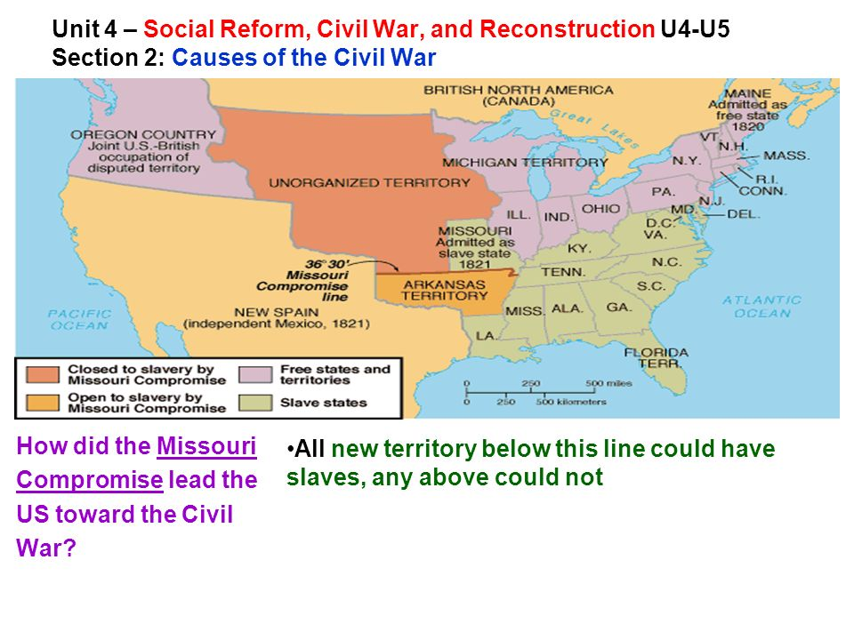 Unit Social Reform Civil War And Reconstruction UU MYP - Us map in reconstruction