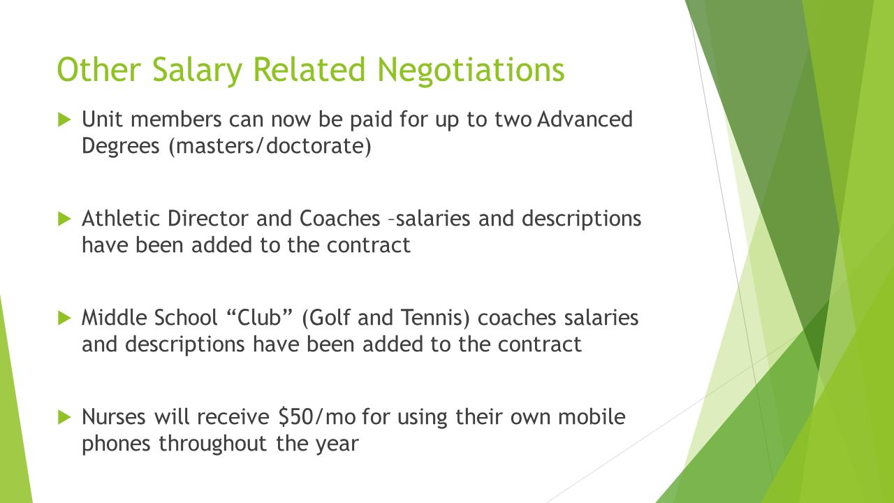 Negotiations for contract year salary increase salary increase 3 other malvernweather Choice Image