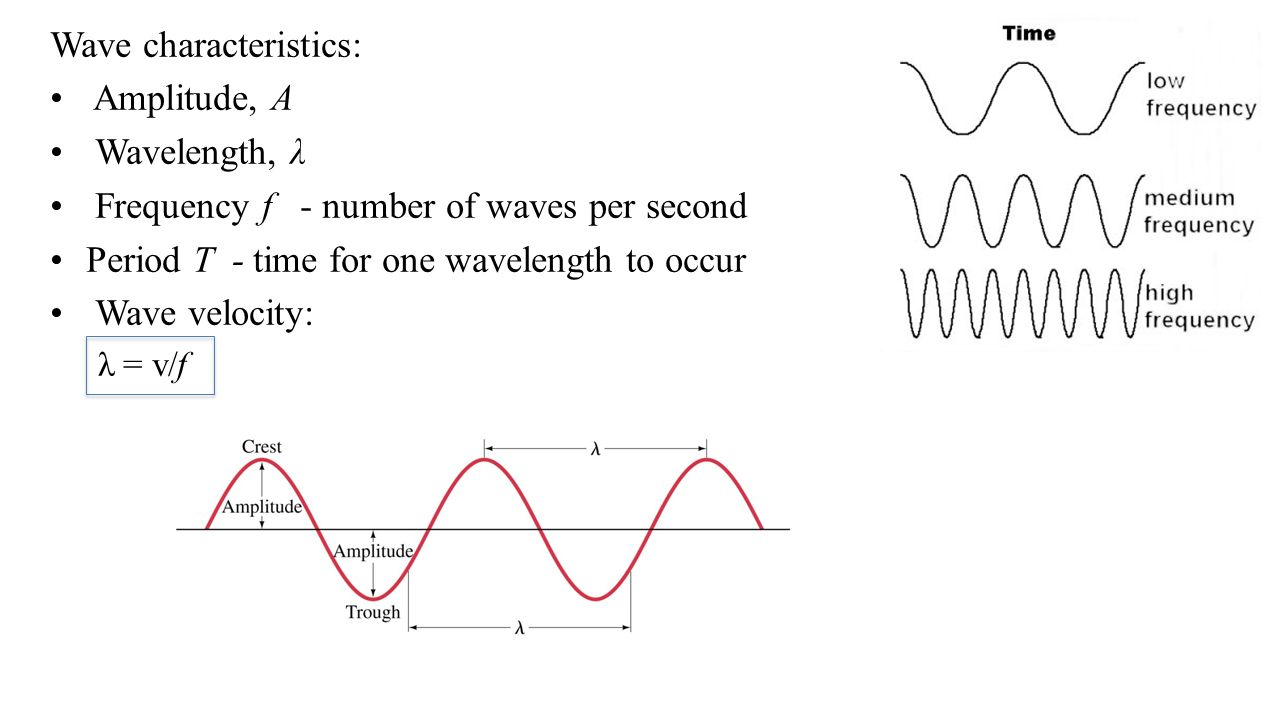 worksheet Characteristics Of Waves Worksheet chapter 11 and 12 78 waves 2014 pearson education inc 3 wave characteristics amplitude a wavelength frequency f number of per second period t time for one w