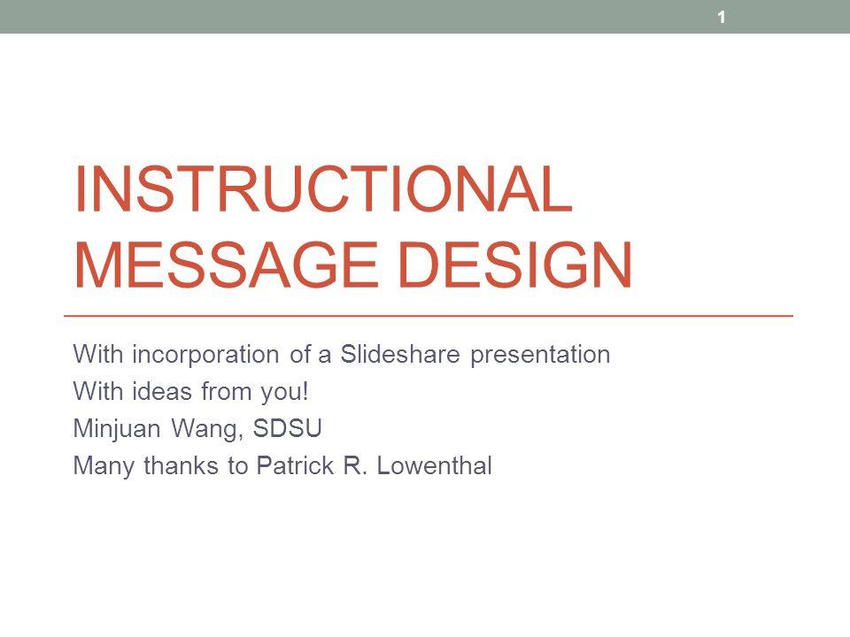 message design