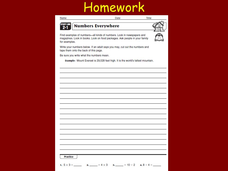 23 Day 2 Place Value In Whole Numbers Homework Ppt Download