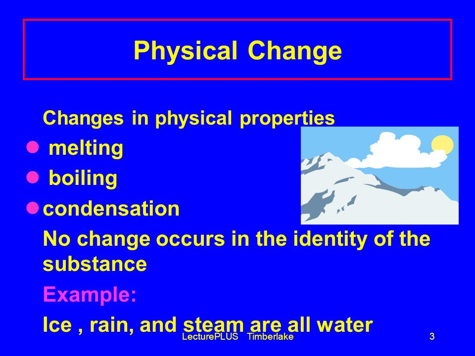 Examples Of Physical Changes 32904 Movieweb