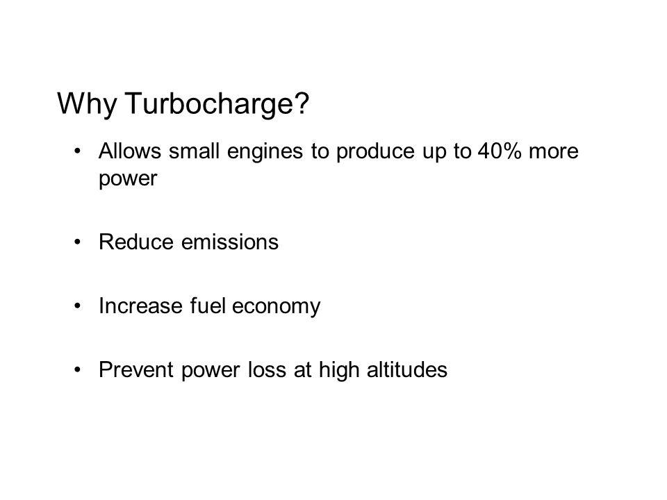 Why Turbocharge.