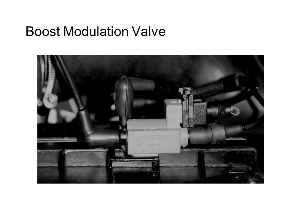 Boost Modulation Valve
