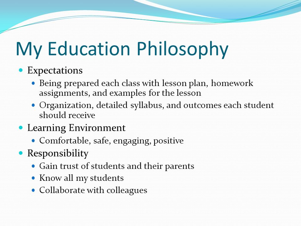 philosophy of education assignment Philosophy of education is the branch of applied or practical philosophy concerned with the nature and aims of education and the philosophical problems arising from educational theory and practice.