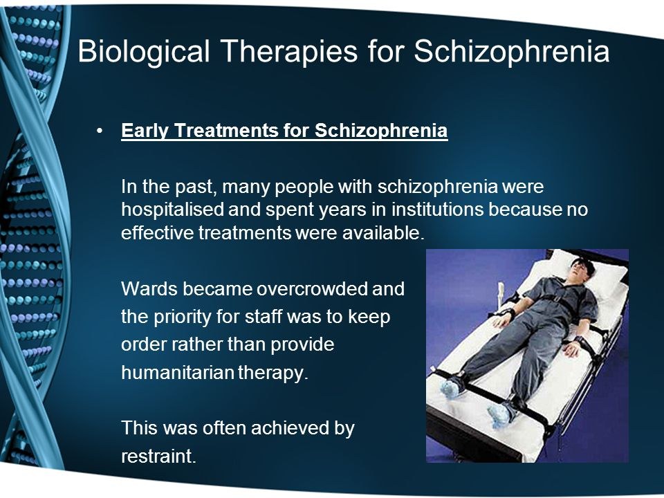 how people with schizophrenia should be treated