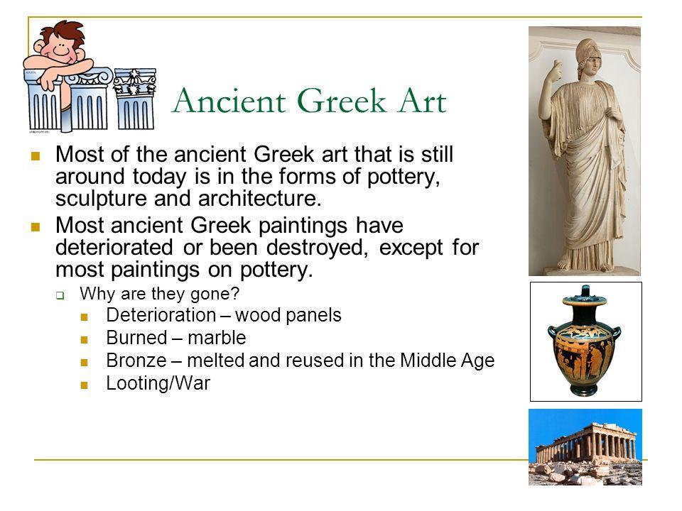greek art facts