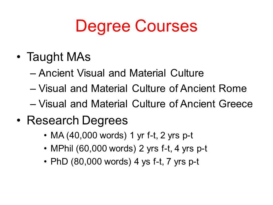 Degree Dissertation