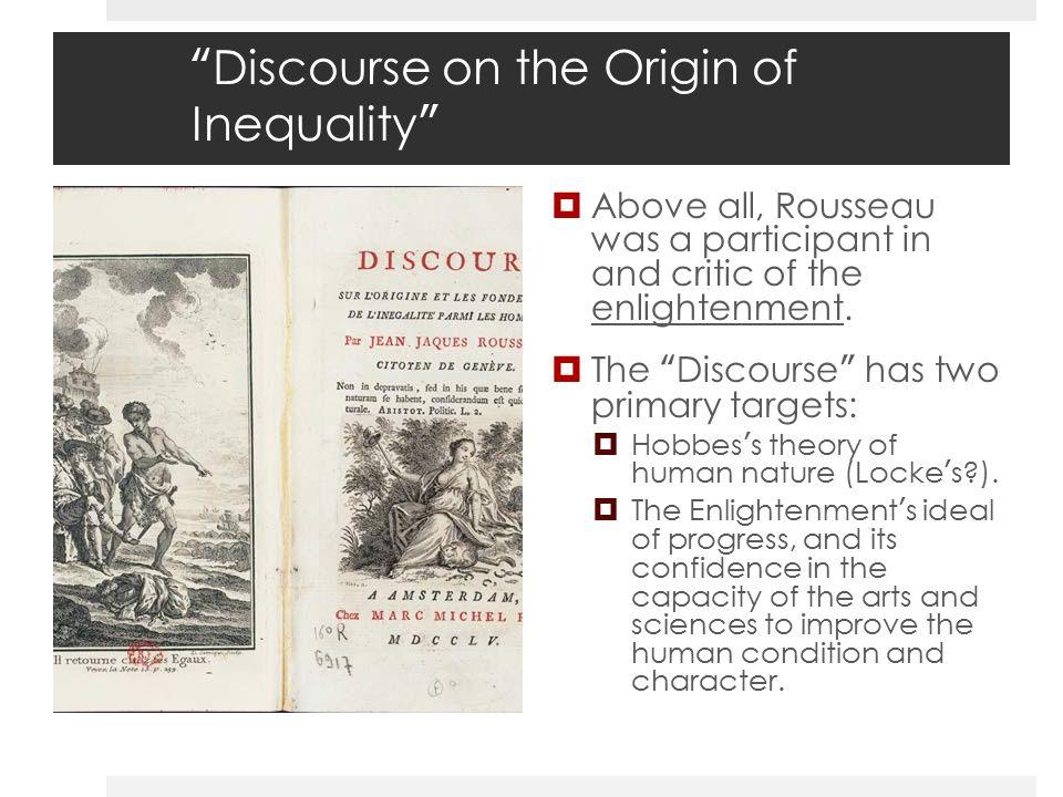 origin of inequality