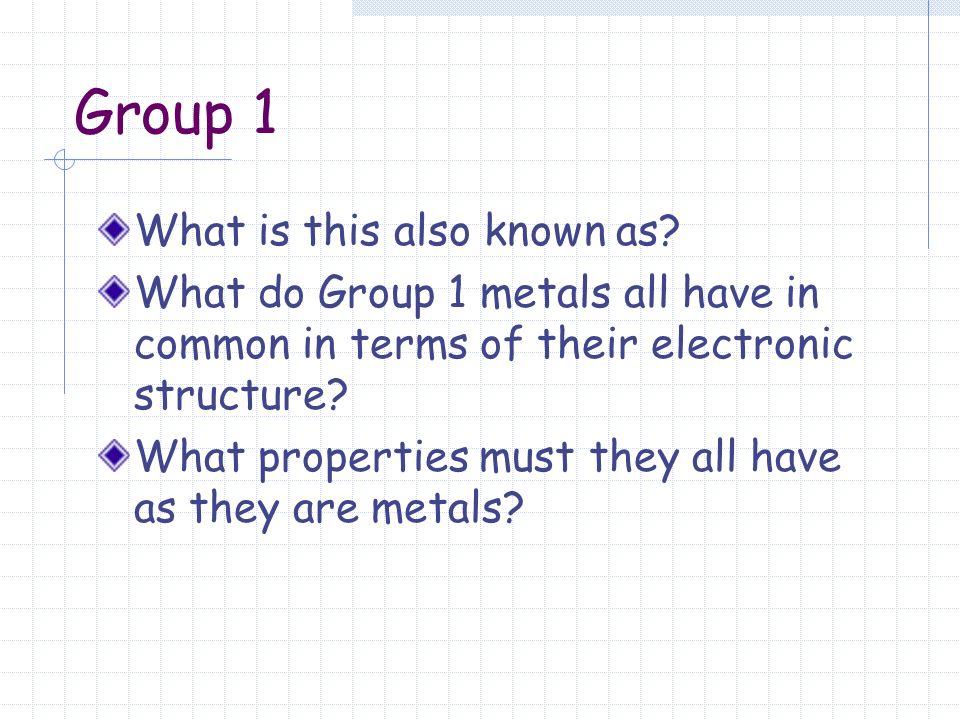 1 periodic table periodic table 2 group - Periodic Table Group 1