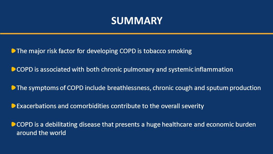 Targeting chronic inflammation in copd a unique approach with daxas 9 summary publicscrutiny Choice Image