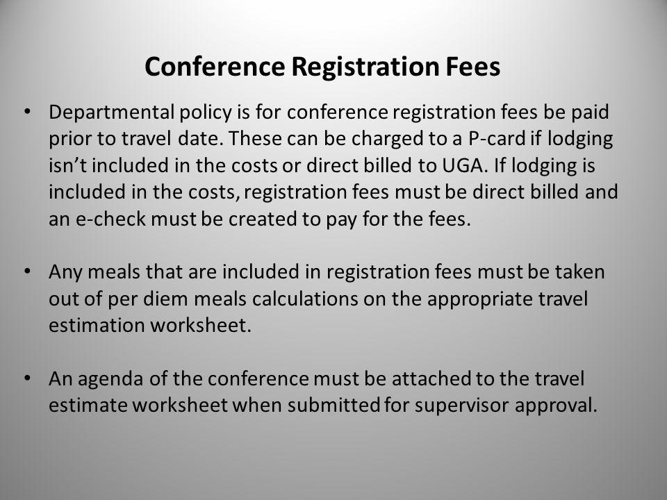 University Housing Employee Travel Policy Training Updated January ...