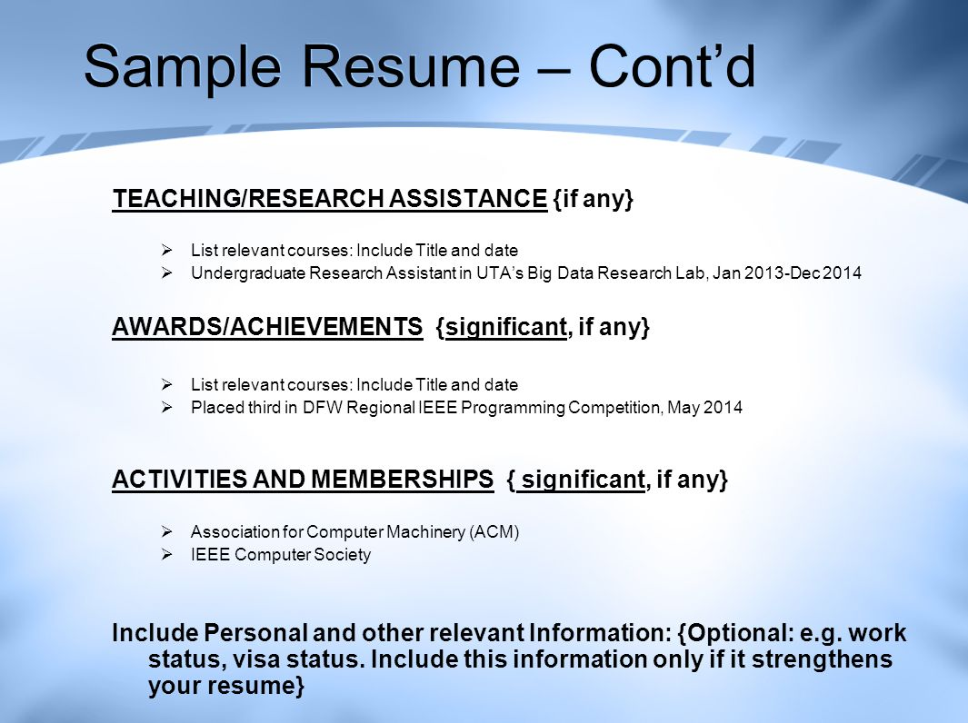 Job Search Resume Writing And Interview Skills Prepared By