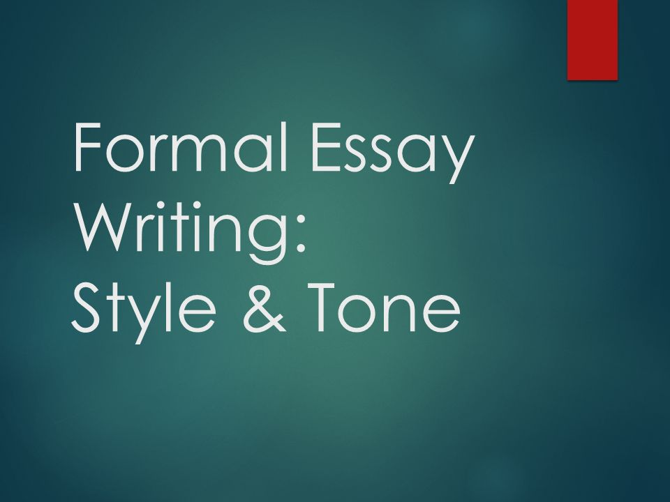 formal academic essay style © 2012 learning centre, university of sydney 1 module 2: writing in an academic style rewrite these sentences using a more formal, academic style 1.
